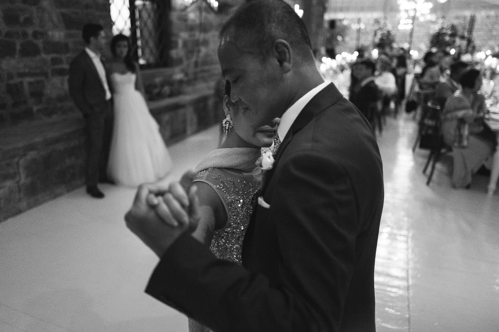 parents moment intimate close love dance wedding destination groom bride artistic candid tears